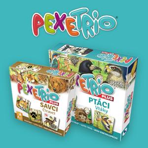 Pexetrio - zvieratká