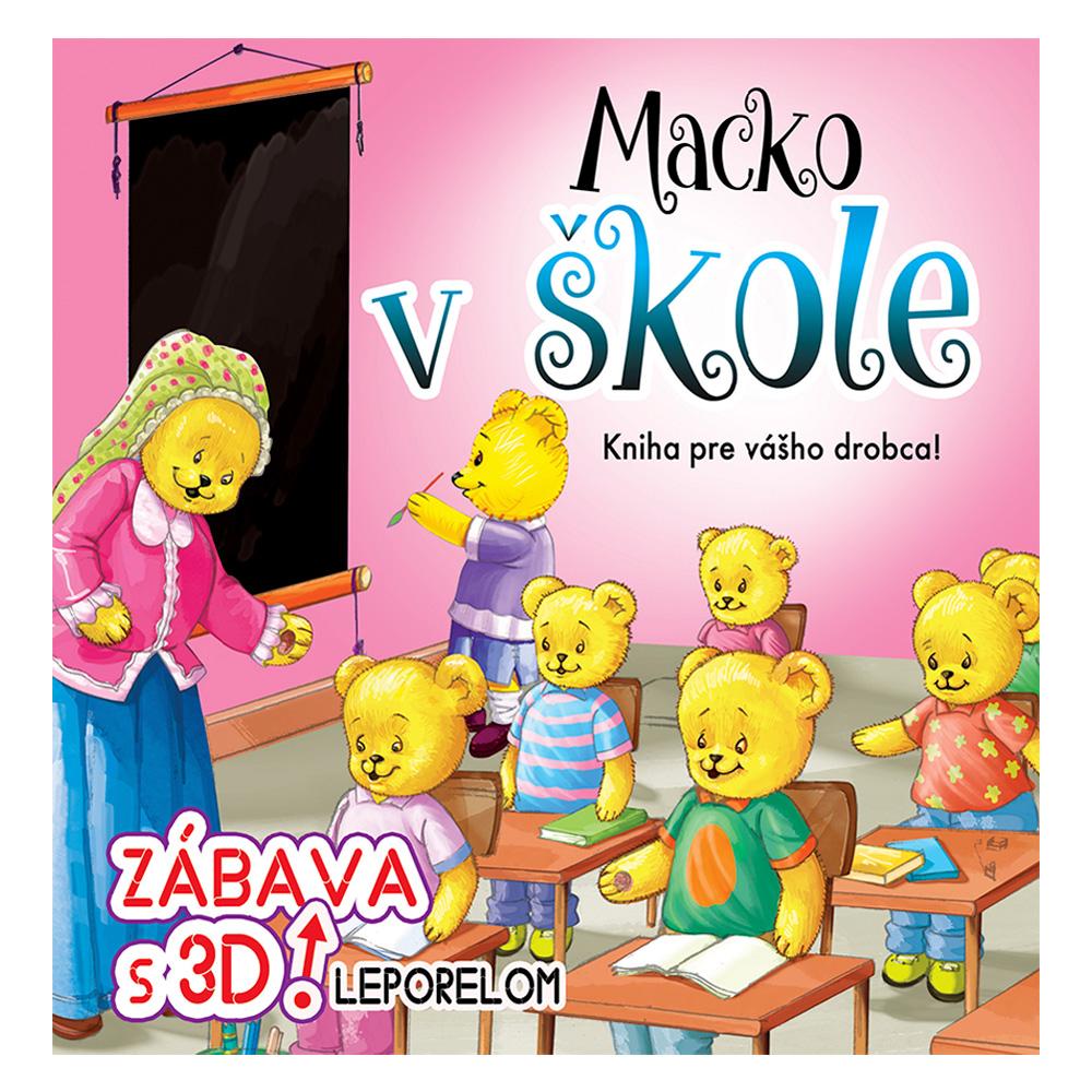 Macko v škole 3D