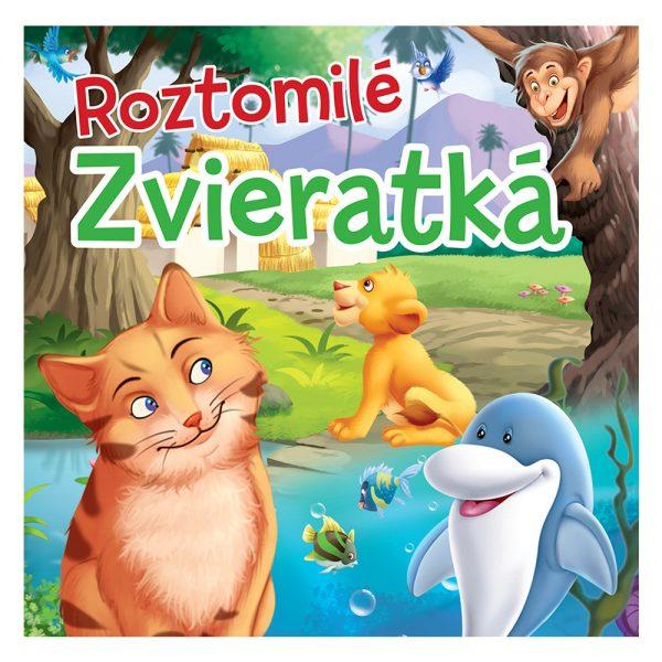 Roztomilé zvieratká - textilná kniha