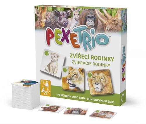 Pexetrio – Zvieracie rodinky
