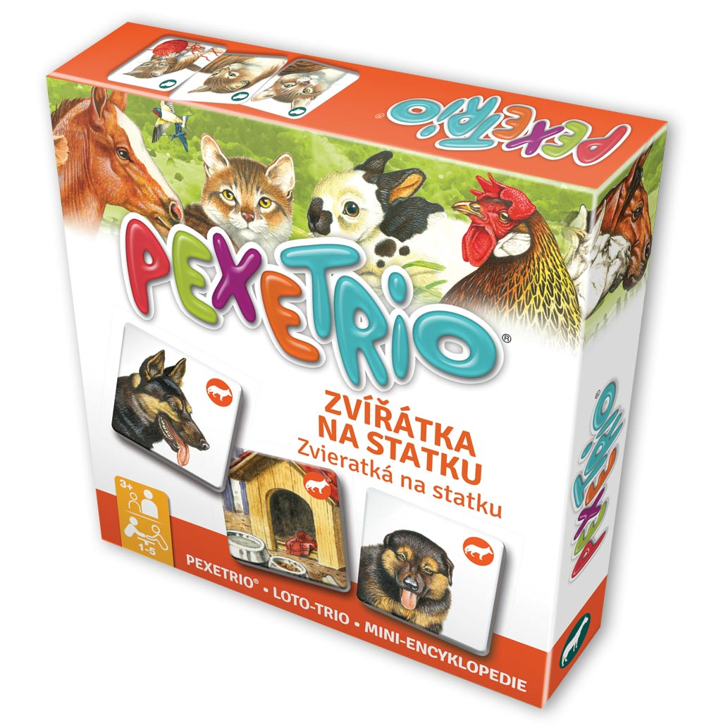 Pexetrio – Zvieratká na statku