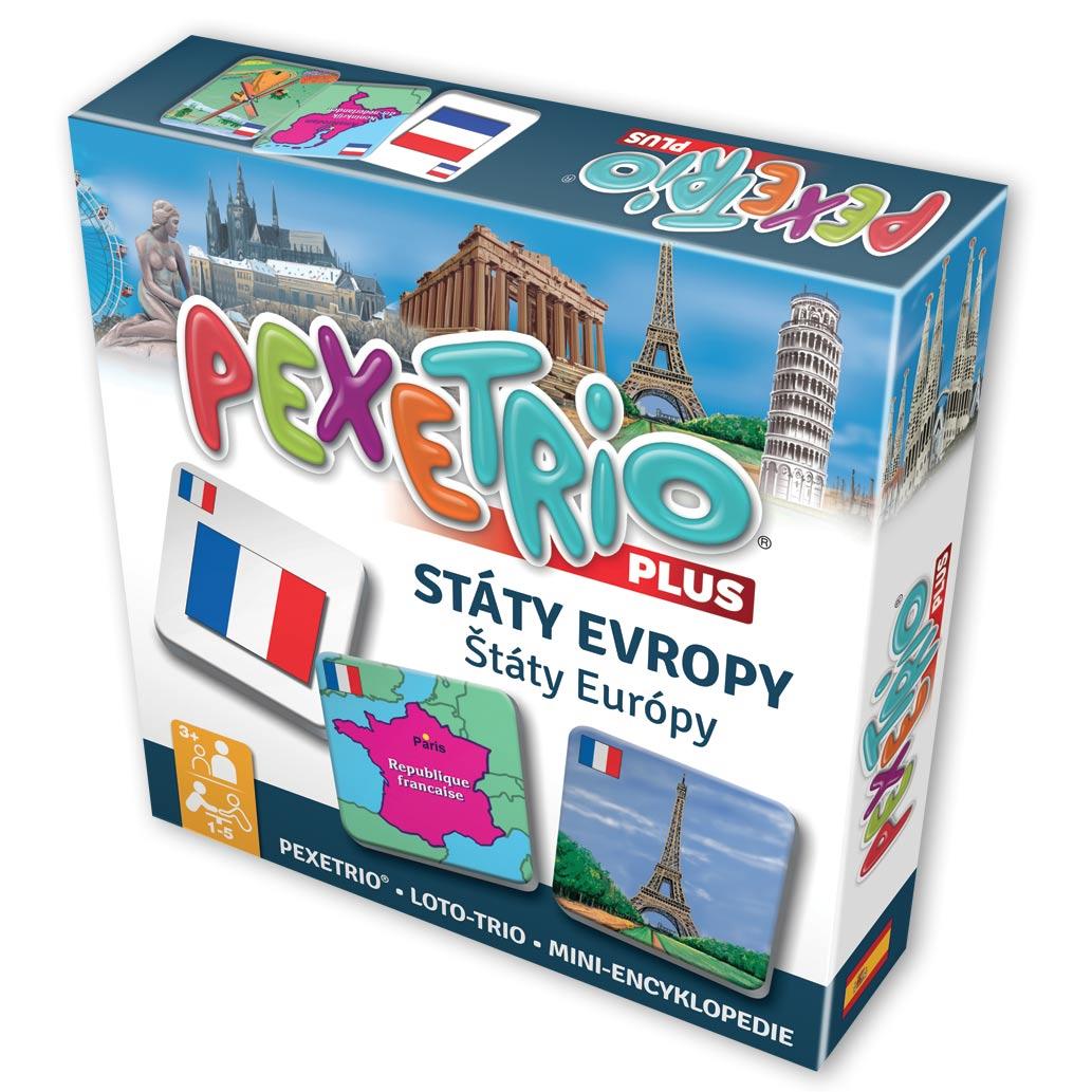Pexetrio – Štáty Európy