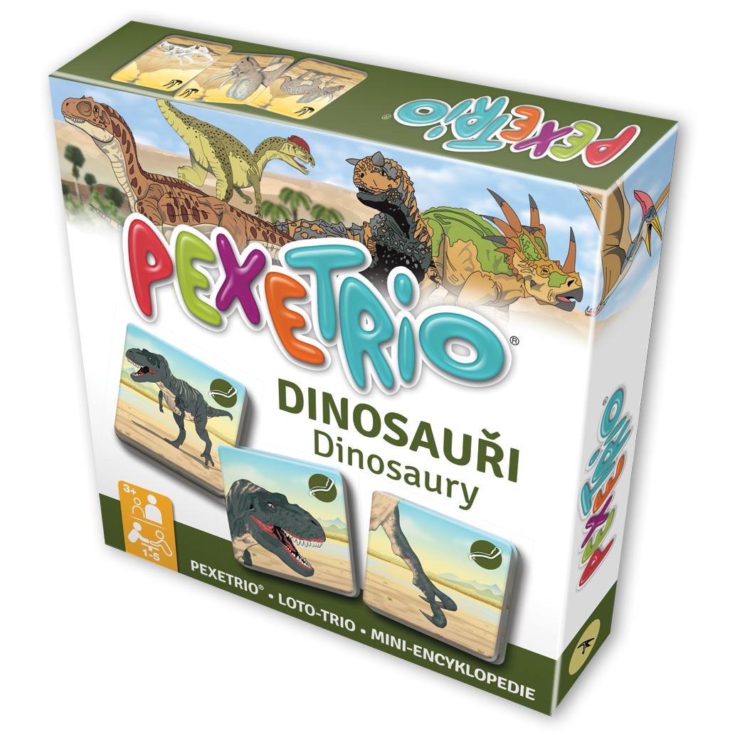 Pexetrio – Dinosaury