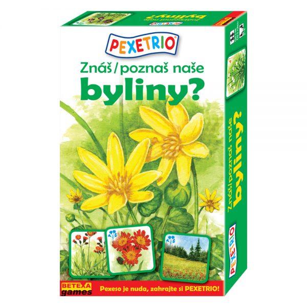 Pexetrio - Poznáš naše byliny?