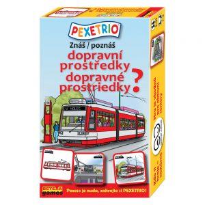 Pexetrio - Poznáš dopravné prostriedky?