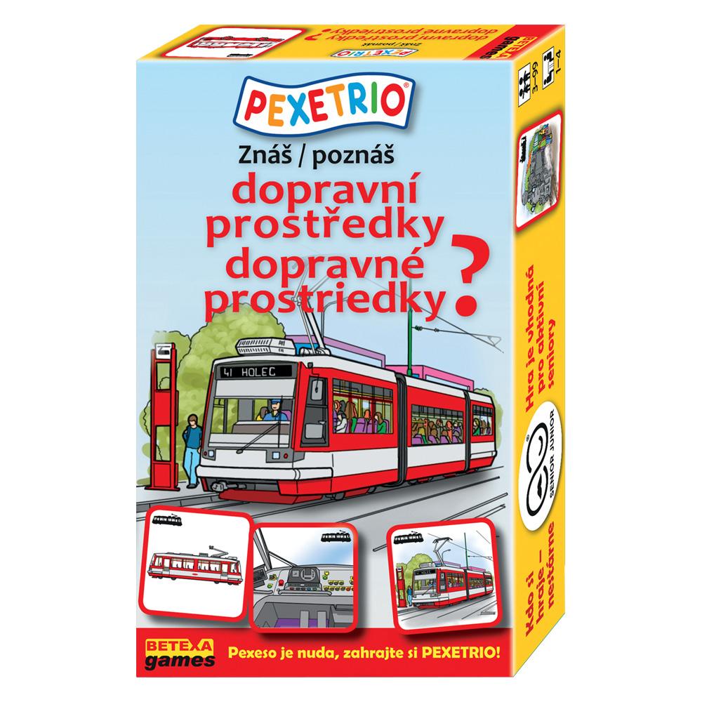 Pexetrio – Poznáš dopravné prostriedky?
