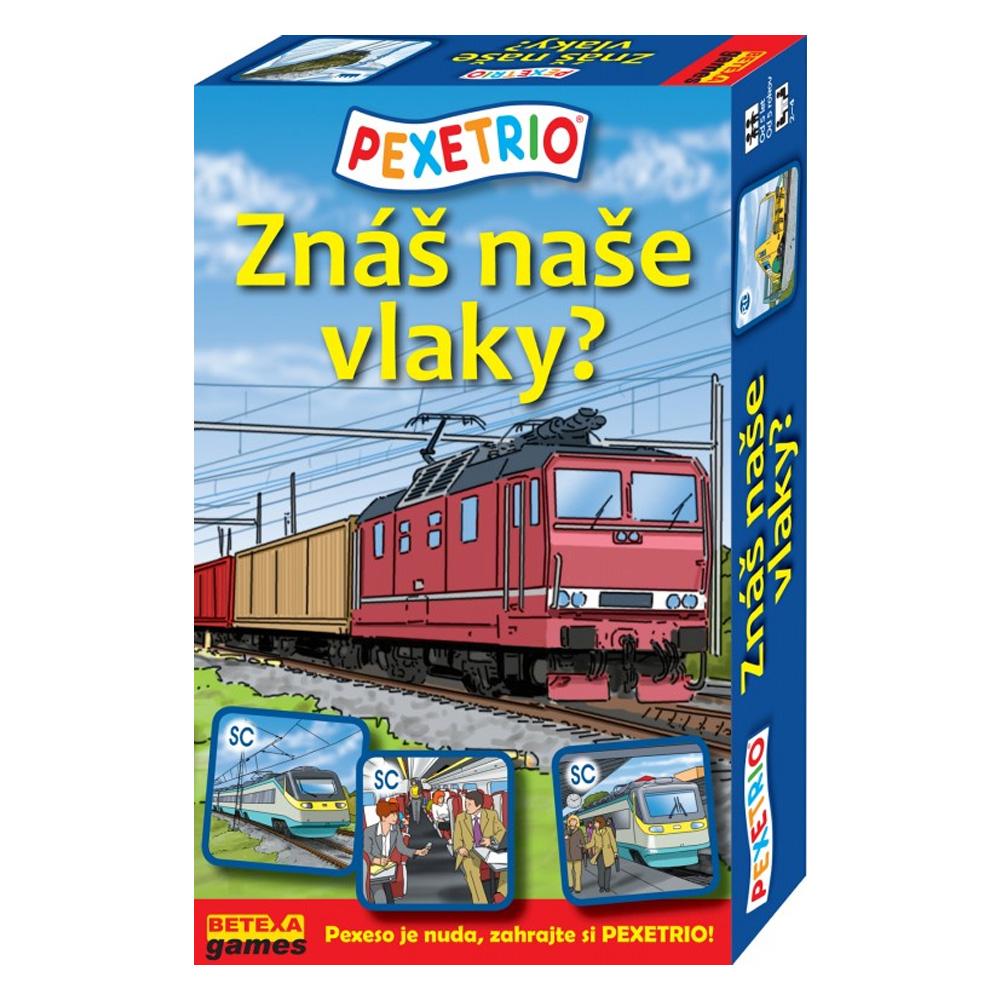 Pexetrio – Poznáš naše vlaky?